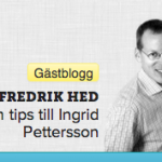 Fredrik Hed, bloggare