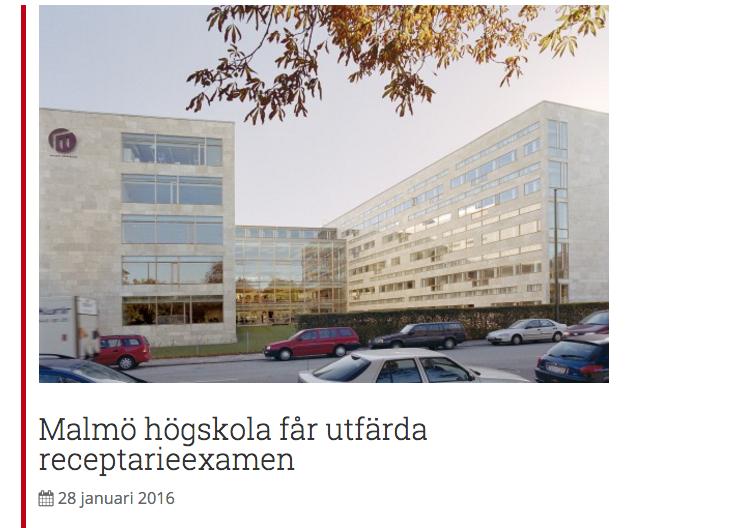 Det blev 25 artiklar för Svensk Farmaci